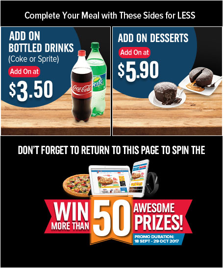 Spin And Win - Domino's Pizza Singapore